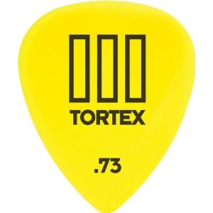 Dunlop 462P Tortex III Yellow .73