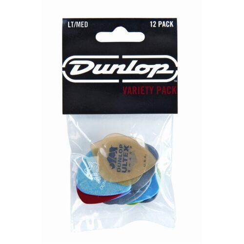 Dunlop PVP101 LT/MED Variety pack (busta da 12 plettri)