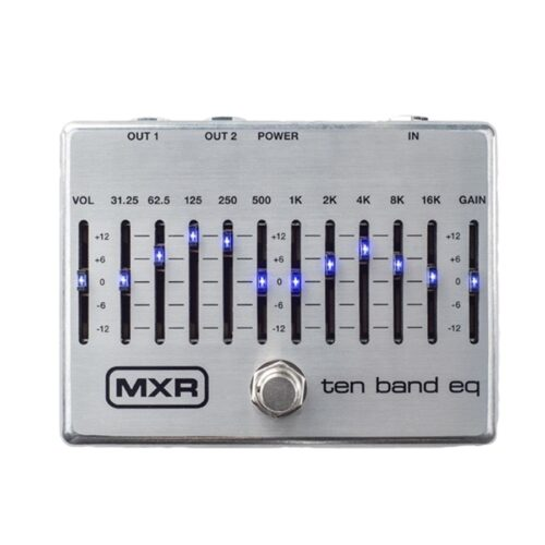Mxr M108S Ten Band Graphic EQ