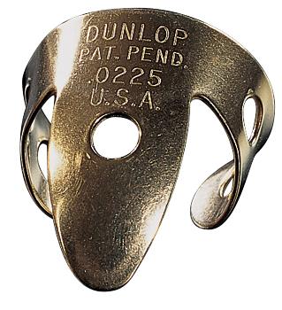 Dunlop 37R BRASS FINGER .020 - TUBO 20 PLETTRI