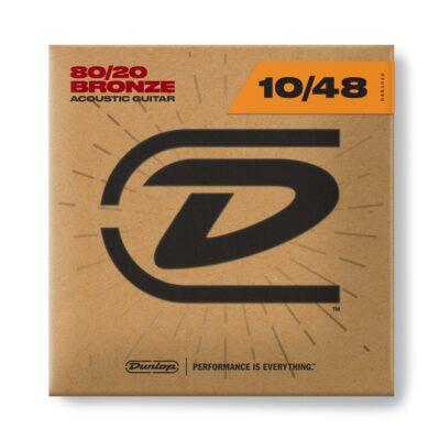 Dunlop DAB1048 Acoustic 80/20 Bronze