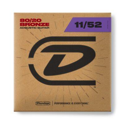 Dunlop DAB1152 Acoustic 80/20 Bronze