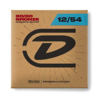 Dunlop DAB1254 Acoustic 80/20 Bronze