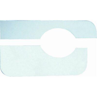 Herco HE202 Protezione adesiva in plastica bianca