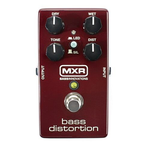 Mxr M85 Bass Distortion Pedale Per Basso