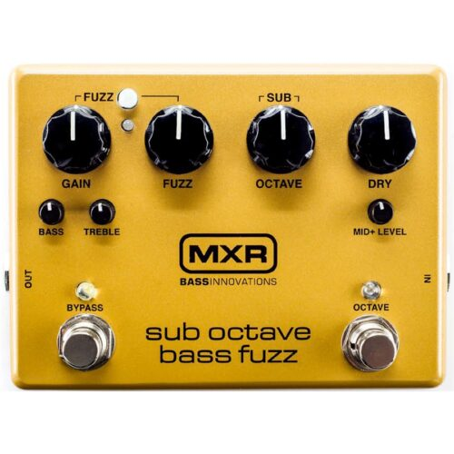 Mxr Sub Octave Bass Fuzz M287 Pedale Per Basso
