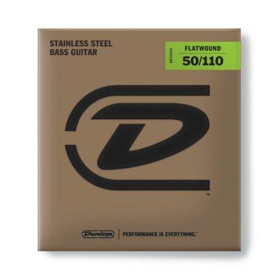 Dunlop DBFS50110 Flatwound Scala Lunga 50-110 4/Set