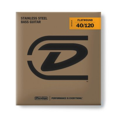 Dunlop DBFS40120 Flatwound Light Scala lunga Set/5