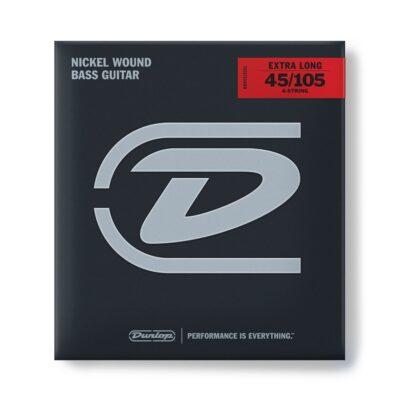Dunlop DBN45105XL Nickel Wound Extra Long 45-105 4/Set