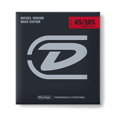 Dunlop DBN45105S Nickel Wound Scala Corta 45-105 4/Set