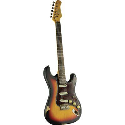 Eko Guitars S-300 Relic Sunburst