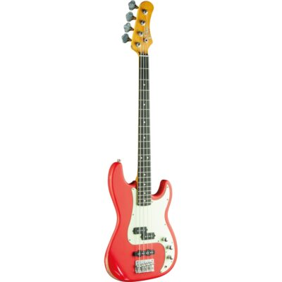 Eko Guitars VPJ-280 Relic Fiesta Red