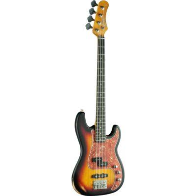 Eko Guitars VPJ-280 Relic Sunburst
