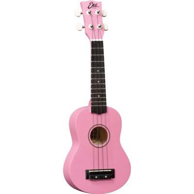 Eko Guitars Uku Primo Ukulele Soprano Pink