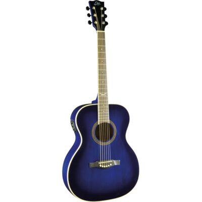 Eko Guitars NXT 018 Eq Blue Sunburst