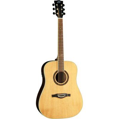 Eko Guitars One ST D EQ Natural ETS