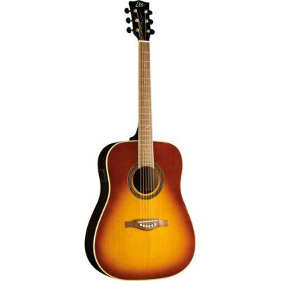 Eko Guitars One ST D EQ Vintage Burst ETS