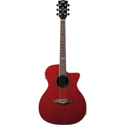 Eko NXT A100ce See Through Red Chitarra Acustica