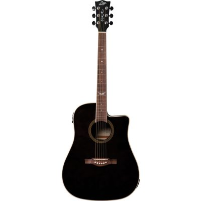 Eko NXT D100ce Through Black Chitarra Acustica