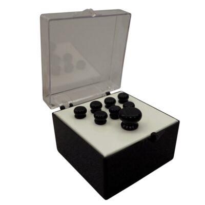 Martin & Co. 18APP18 Set Pin Black Lucidi