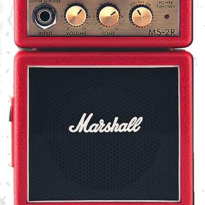 Marshall MS-2R Red 1 Watt