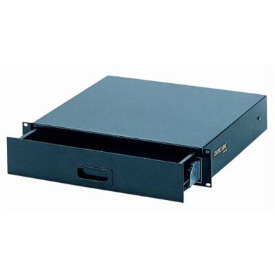 Quik Lok RS/670 Cassetto rack 2 unità con sistema di sbloccaggio/bloccaggio