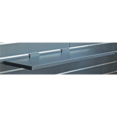 Quik Lok SBS/649L mensola lunga traforata per pannelli espositori Slatwall