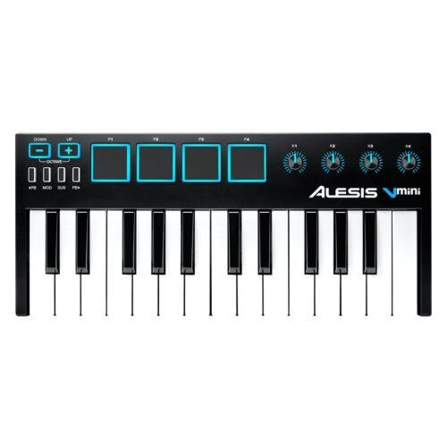 Alesis V Mini: Tastiera MIDI USB controller compatto a 2 ottave