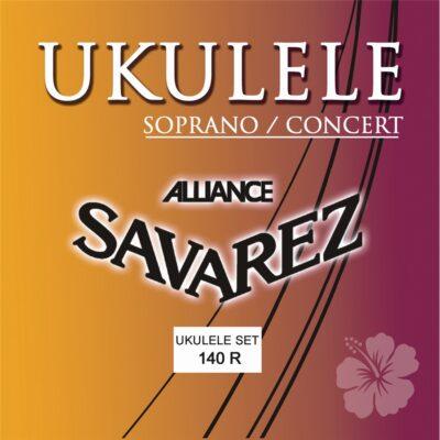 Savarez 140R Set per kulele Soprano e Concerto