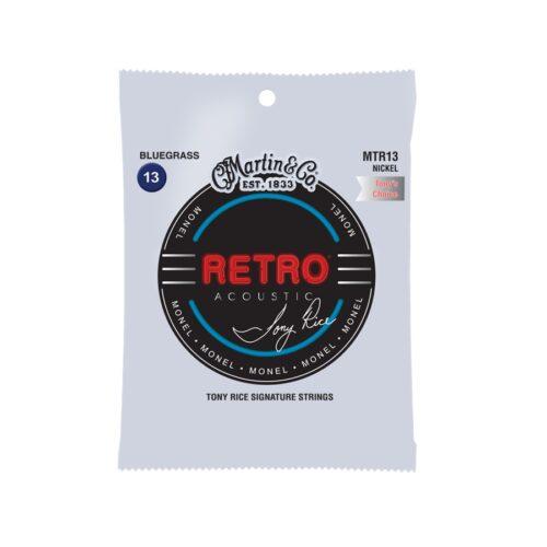 Martin & Co. MTR13 Retro Acoustic Bluegrass T Rice's Choice Monel Woud 13-56