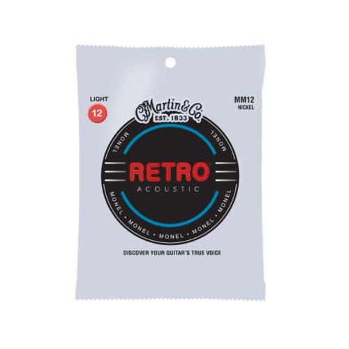 Martin & Co. MM12 Retro Acoustic Light Monel Wound 12-54