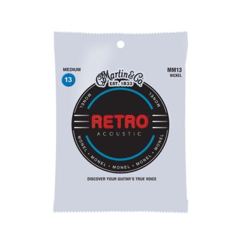 Martin & Co. MM13 Retro Acoustic Medium/Light Monel Wound 13-56