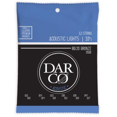 Darco D500 Darco Acoustic Light 12-Strings Bronze 10-47