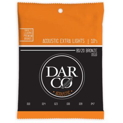 Darco D510 Darco Acoustic Extra Light Bronze 10-47