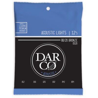 Darco D520 Darco Acoustic Light Bronze 12-54