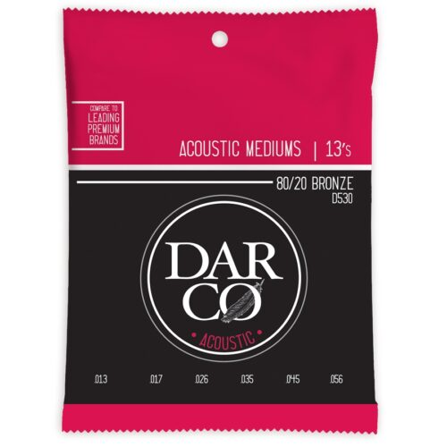 Darco D530 Darco Acoustic Medium Bronze 13-56