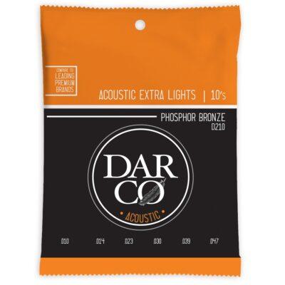 Darco D210 Darco Acoustic Extra Light Phosphor Bronze 10-47