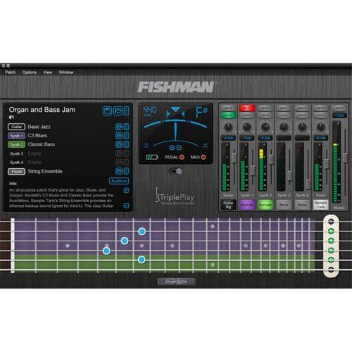 Fishman TriplePlay Wireless MIDI Guitar Controller