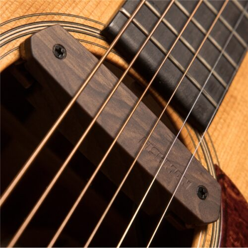 Fishman Neo-D Soundhole Pickup Singol Coil Woodgrain