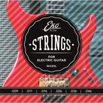 Eko Guitars Corde Chitarra Elettrica 9-46 Light Set/6