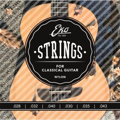 Eko Guitars Corde Chitarra Classica 28-43 Medium Tension Set/6