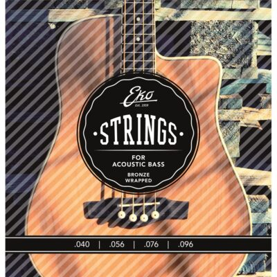 Eko Guitars Corde Basso Acustico Bronze 40-96 Medium Set/4