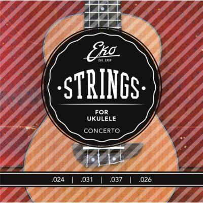 Eko Guitars Corde Ukulele Soprano Medium Set/4