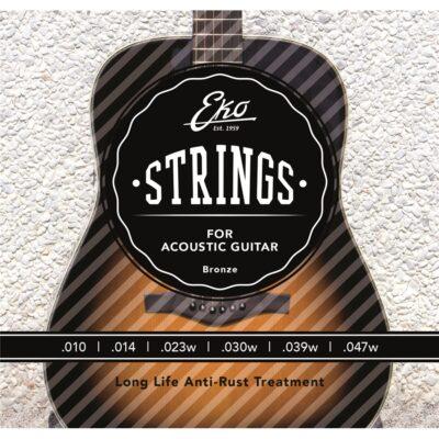 Eko Guitars Corde Chitarra Acustica Bronze 10-47 Light Set/6