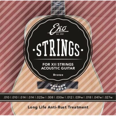 Eko Guitars Corde Chitarra Acustica XII Bronze 10-47 Light Set/12