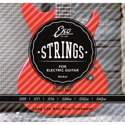 Eko Guitars Corde Chitarra Elettrica 9-42 Extra Light Set/6