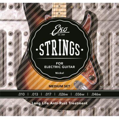 Eko Guitars Corde Chitarra Elettrica 10-46 Regular Set/6