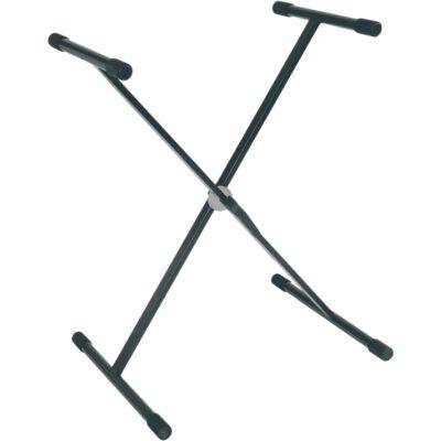 RTX RX Stand a X per Tastiera Telaio Singolo Ball Lock Nero