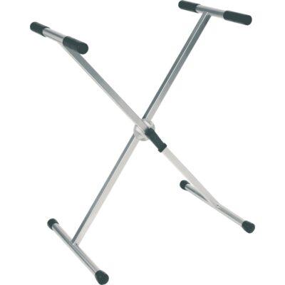 RTX RX20-T Stand a X per Tastiera pesante Telaio Singolo Ball Lock Titanio