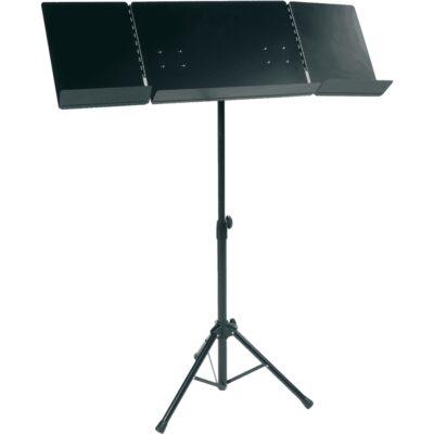 RTX PUVX Leggio Pieghevole Orchestra Nero
